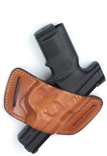 Leather Belt-Slide Front Line Holster