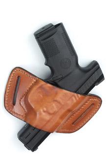 Leather Belt-Slide Front Line Holster