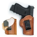 Ready'n'Safe IWB leather holster with Alpha Lining and Kydex trigger guard insert.