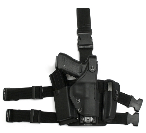 KNG Holster HDL quick-release standard tactical plate M4 & Pistol magazine pouch