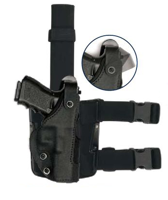 Tactical Thumb-Spring Drop Leg Holster