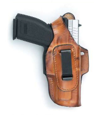 FL90xx Fast-Draw Four-Way Leather Holster