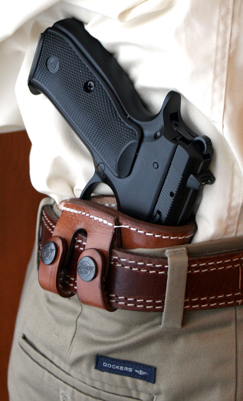 deep concealment tuckable iwb holster precision custom firearm finishes. Black Bedroom Furniture Sets. Home Design Ideas