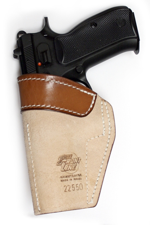 Leather Yammam IWB Front Line Holster