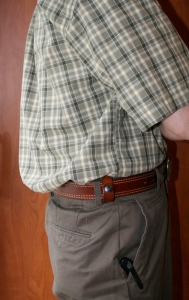 Deep Concealment Tuckable IWB Holster Leather